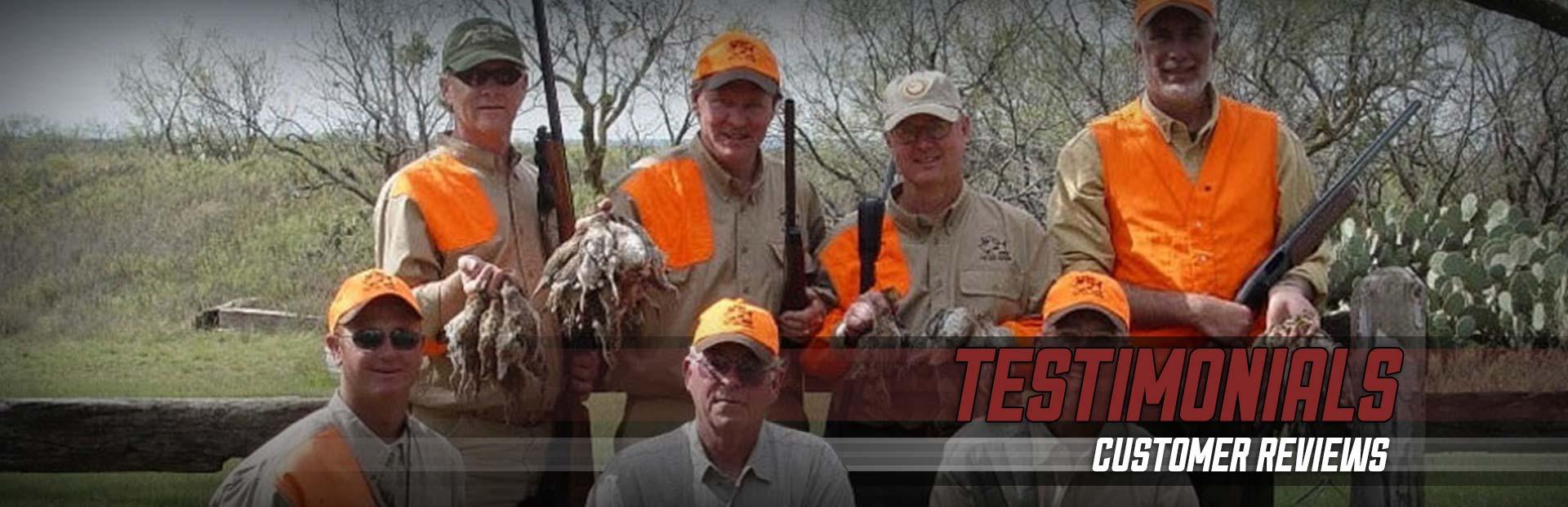 First Shot Outfitters - Testimonials